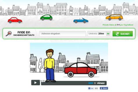 Screenshot nachbarschaftsauto.de