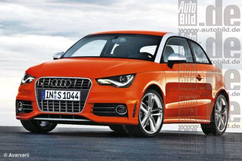 Audi S1 gegen Mini John Cooper Works