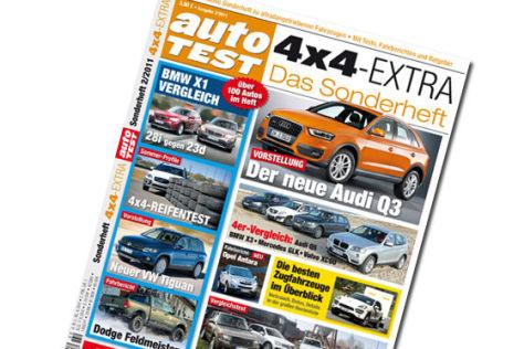 AUTO TEST-Sonderheft: 4x4-Extra