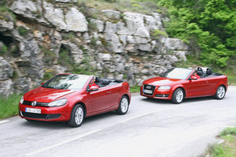 Audi A3 Cabrio VW Golf Cabrio