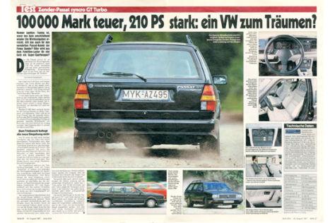 Zender-Passat syncro GT Turbo