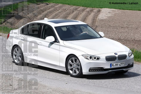 Illustration BMW 3er (F30) 2012