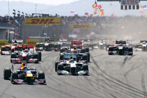 Formel 1: GP der Türkei