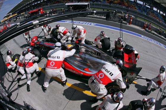 Lewis Hamilton McLaren Mercedes