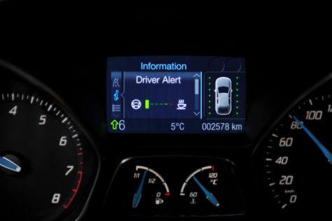 Müdigkeitswarner im Ford Focus