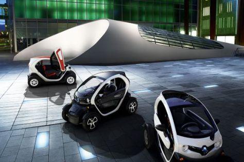 Renault Twizy Z.E. in drei Versionen