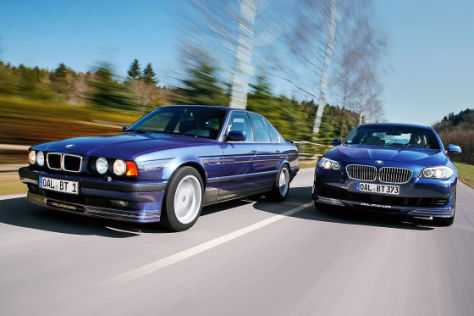 Alpina B5 Biturbo und Alpina B10 Bi-Turbo