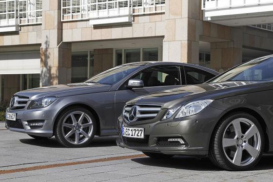 Mercedes C-Klasse Coupé E-Klasse Coupé