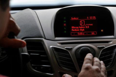 Ford Sync Allergie-Alarm