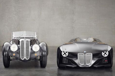 BMW 328 Hommage und 328 Roadster