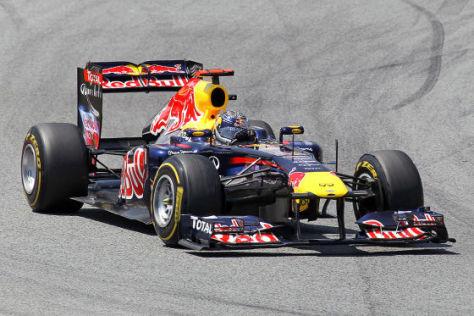 Sebastian Vettel in Barcelona 2011