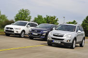 Video: Opel Antara, Mazda CX-7, Mitsubishi Outlander