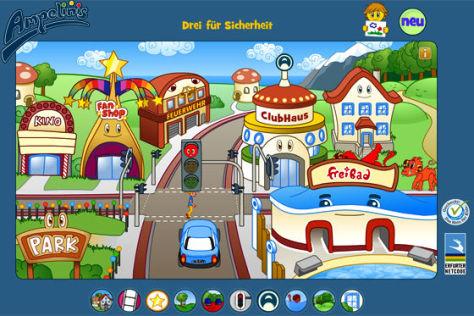 Website zum Thema Verkehr