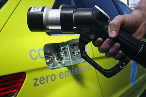 Brennstoffzelle geht in Großserie