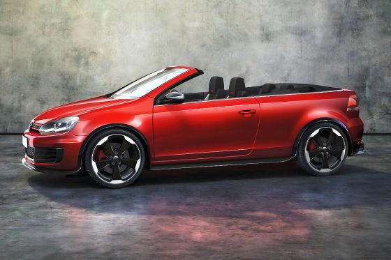 Weltpremiere fürs GTI Cabrio