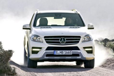 Mercedes M-Klasse W 166