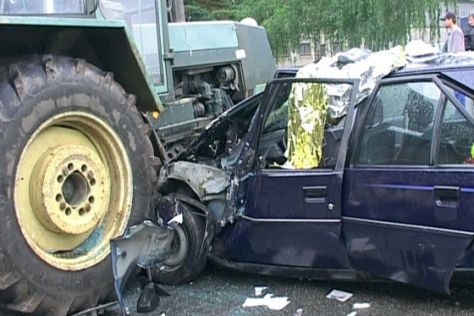 Traktor-Unfälle