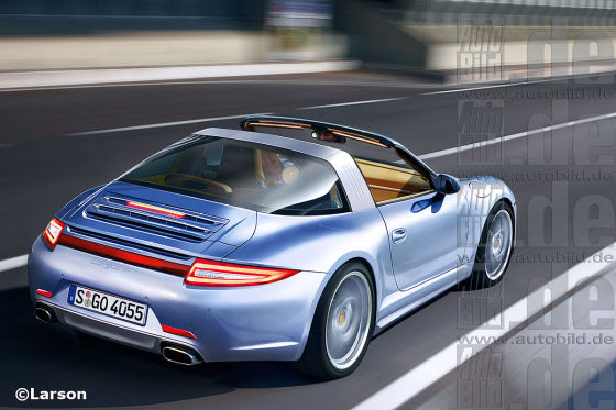 Porsche 911 Illustration