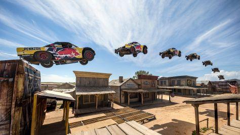 Weltrekord-Sprung im Truck