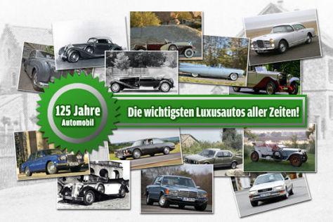 Luxus-Autos: Leserwahl 125 Jahre Auto
