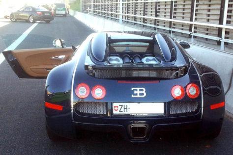 Gestohlener Bugatti Veyron 16.4 Grand Sport
