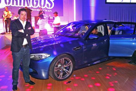 BMW M5 (F10) Vorstellung Nürburgring