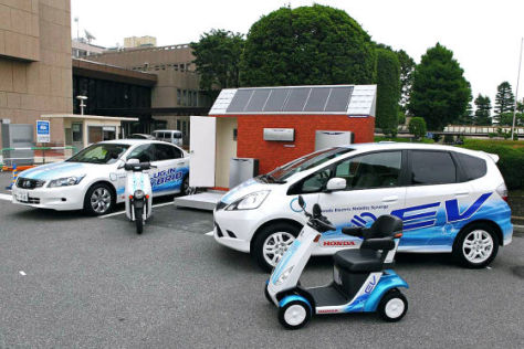 Honda-Flotte für Saitama
