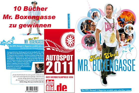 """AUTOSPOT 2011: Gewinnen Sie ein Buch """"Kai Ebel - Mr. Boxengasse"""""""