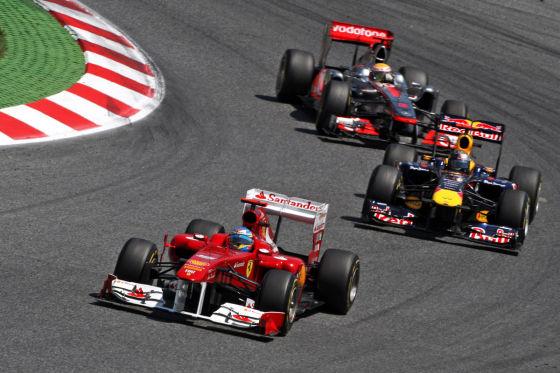 Vettel gewinnt die Hafenrundfahrt