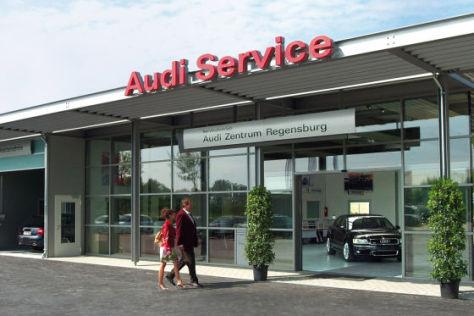 Audi-Werkstatt
