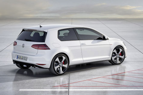 Vorschau VW Golf GTI/R VII (2013)