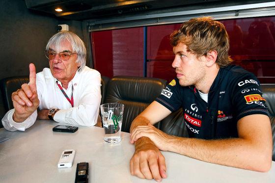 Button Ecclestone Interview