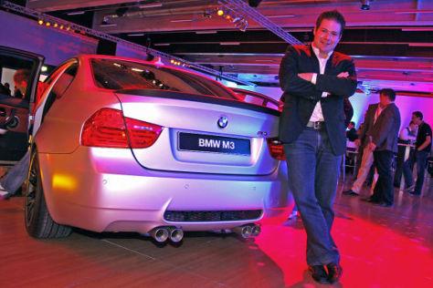 BMW M3 CRT Sitzprobe