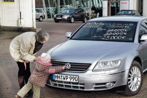Gebrauchtwagen beim Händler: VW Phaeton