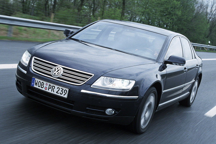 VW Phaeton 6.0 W12 4 Motion