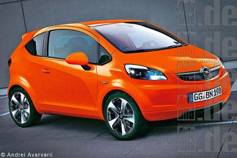 Opel Junior (Computer-Zeichnung)