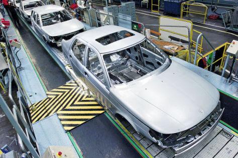 Produktion bei Saab