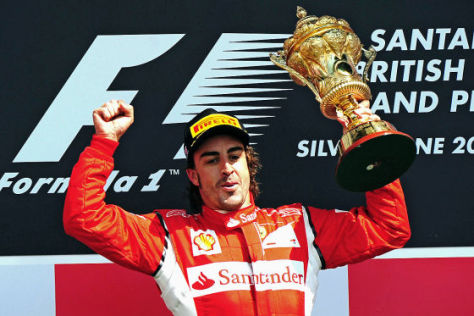 Fernando Alonso siegt in Silvestone