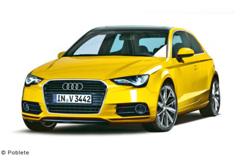 Audi A3 Illustration