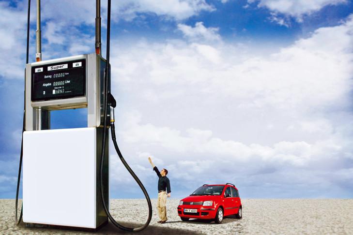 Wie man das Benzin ohne Reiseblätter abschreiben kann