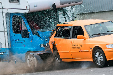 Wohnmobil-Crashtest