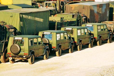 Bundeswehr-Fuhrpark zu groß