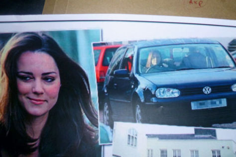 VW Golf von Kate Middleton