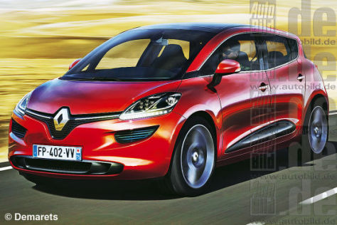 Renault Scénic (Illustration)