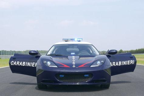Lotus Evora S als Carabinieri-Auto