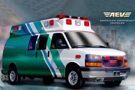 Rettungswagen aus aller Welt