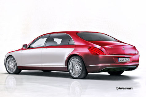 Maybach-Illustration