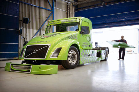 "Volvo-Truck ""Mean Green"""