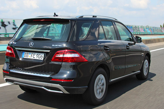 Video: Mercedes ML 250 CDI