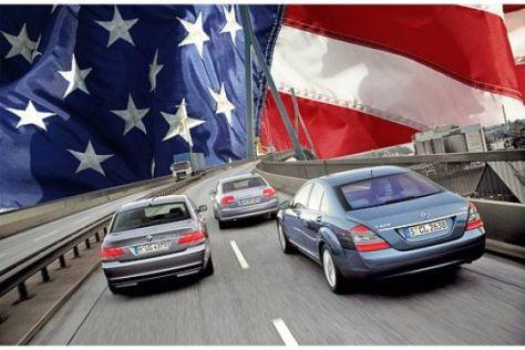 Deutsche Autobauer wachsen trotz US-Krise